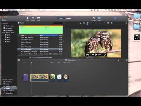Slidecasting with iMovie