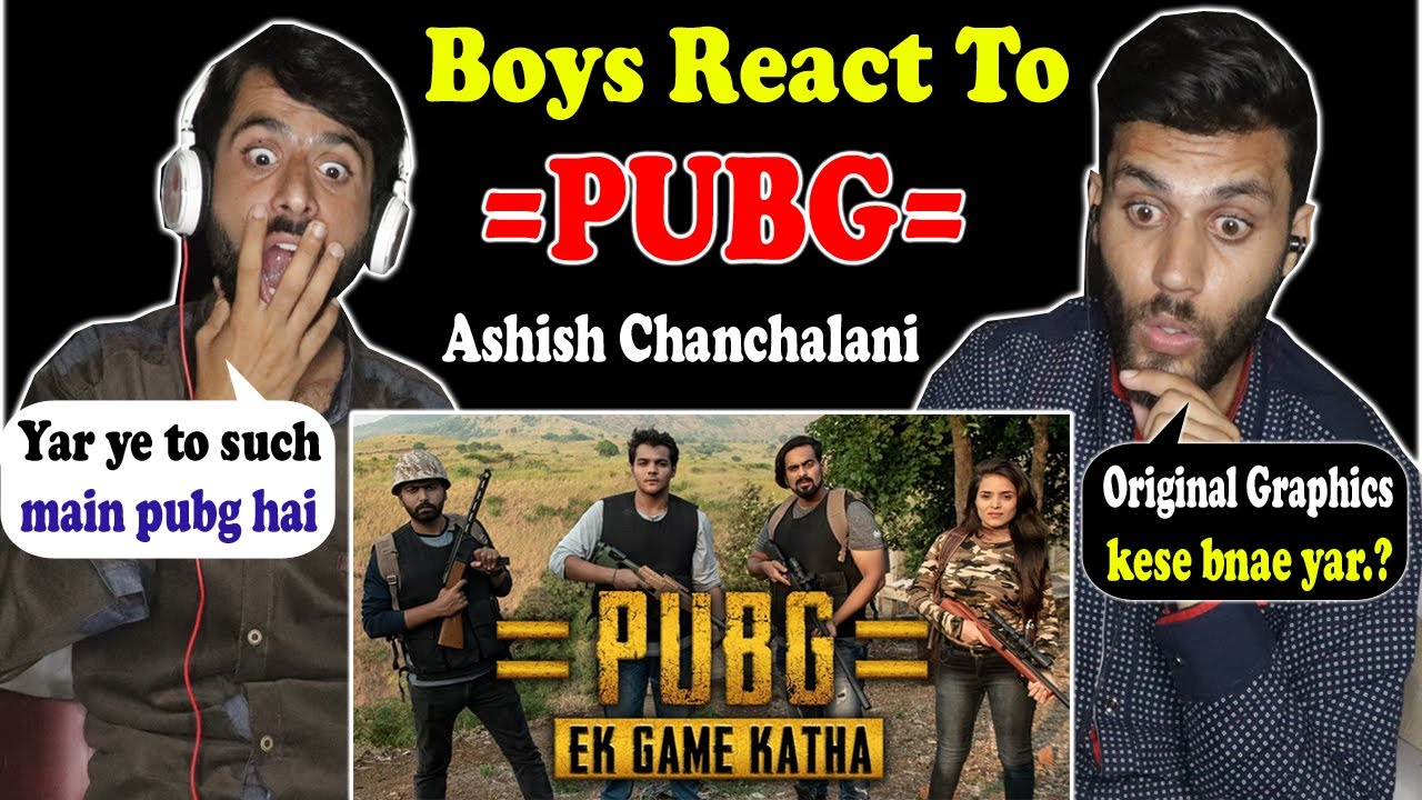 Reaction on PUBG Ashish Chanchlani | PUBG Player TRY NOT TO LAUGH | Ashish | Reaction Videos | PUBG