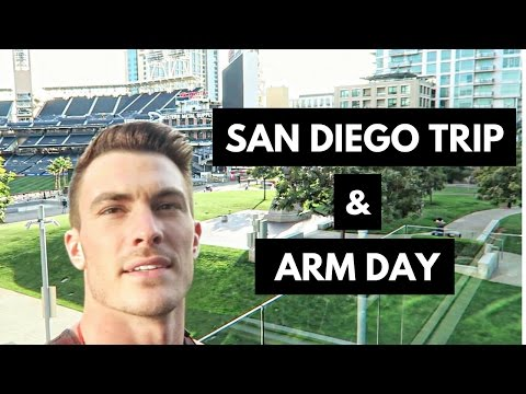 Biz Trip & Full Arm Workout - Back To The Bulk, Ep. 3