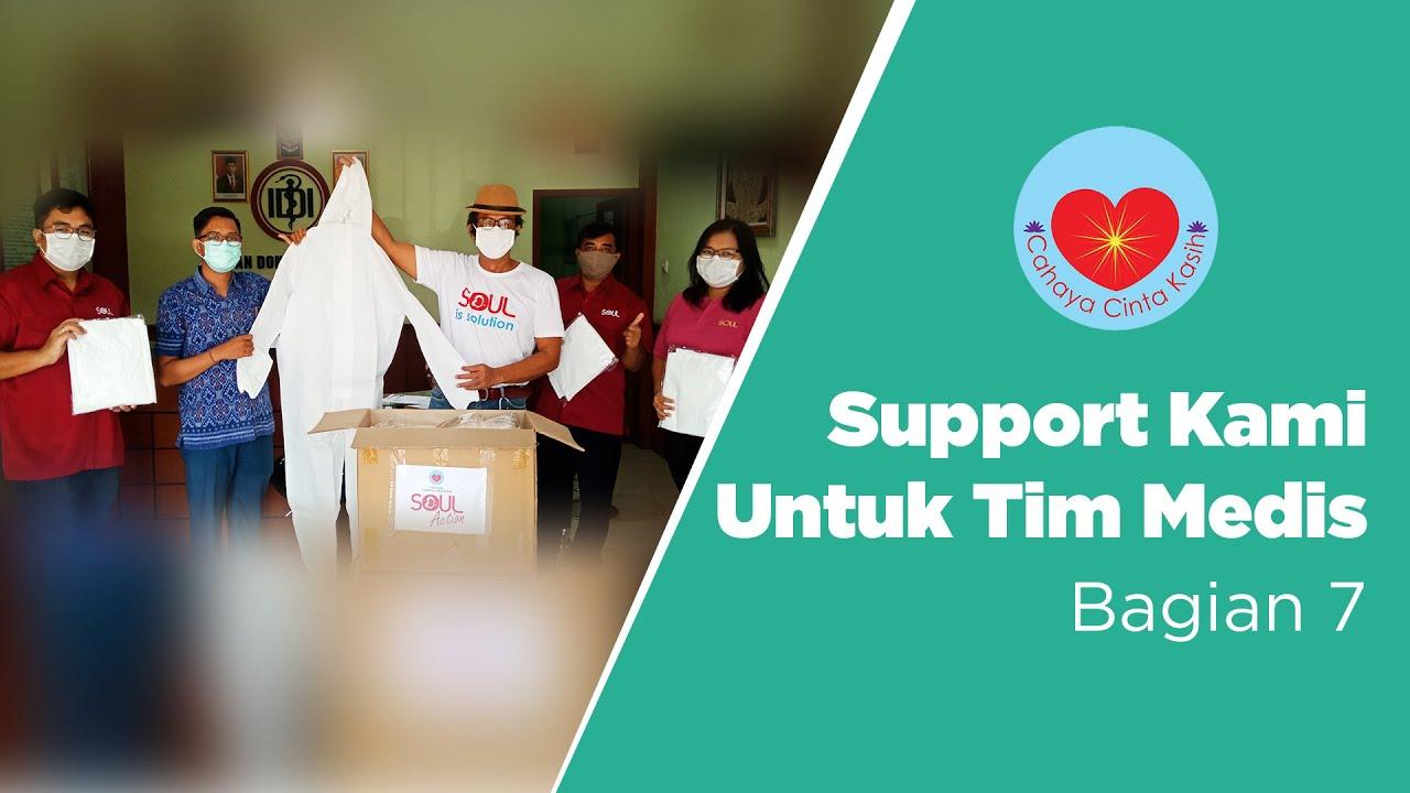 Penyerahan Donasi APD Di PAPDI Bali || Berbagi dan Melayani