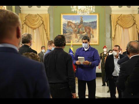 Maduro recibe a observadores internacionales de Europa, Rusia, Irán y Turquía para elecciones 6-D