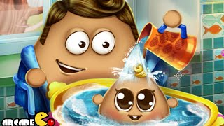 Pou Baby Wash - Funny Game for Kids