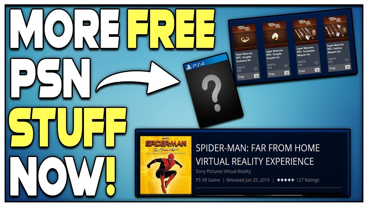 Get Free Stuff On Psn Right Now New Ps4 Games Revealed