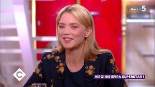 Au dîner avec Virginie Efira ! - C à Vous - 23/01/2019