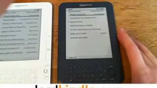 Kindle 2G vs 3G Comparison Kindle Free WiFi 3G Review & Sale @ LordKindle.com