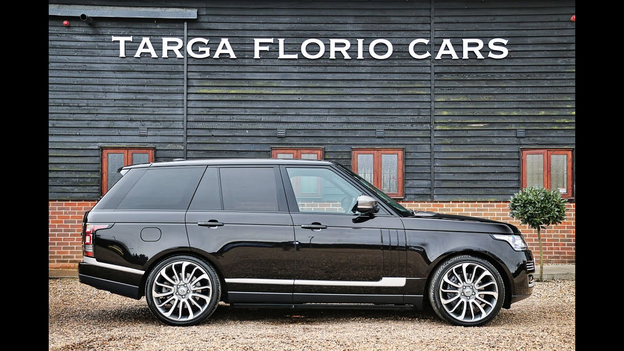 Range rover vogue 3 0 tdv6 automatic in barolo black with - Range rover with red leather interior ...