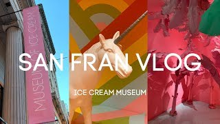 San Fran Travel Vlog: Ice Cream Museum
