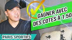 Comment GAGNER avec des COTES à 1,50 - PARIS SPORTIFS