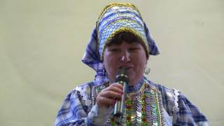 Юбилейный концерт удмуртской певицы Ирины Денисовой из села Алнаши. Москва 5 августа 2017