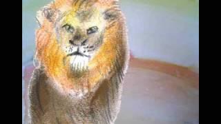De Jager en de leeuw