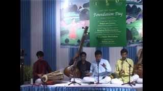 Dhrupad in Sultal (10 beats) by Dhrupad Kendra Bhopal at Lalit Kala Academy Delhi
