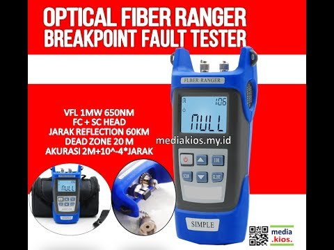 Optical Fiber Ranger Breakpoint Simple OTDR