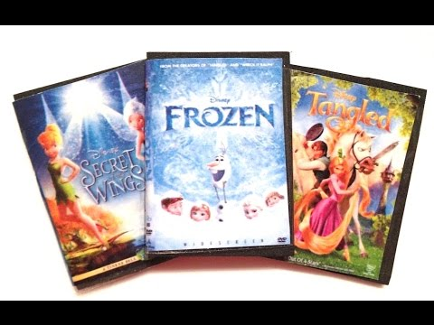 Diy american girl doll dvd cases youtube for American cuisine dvd