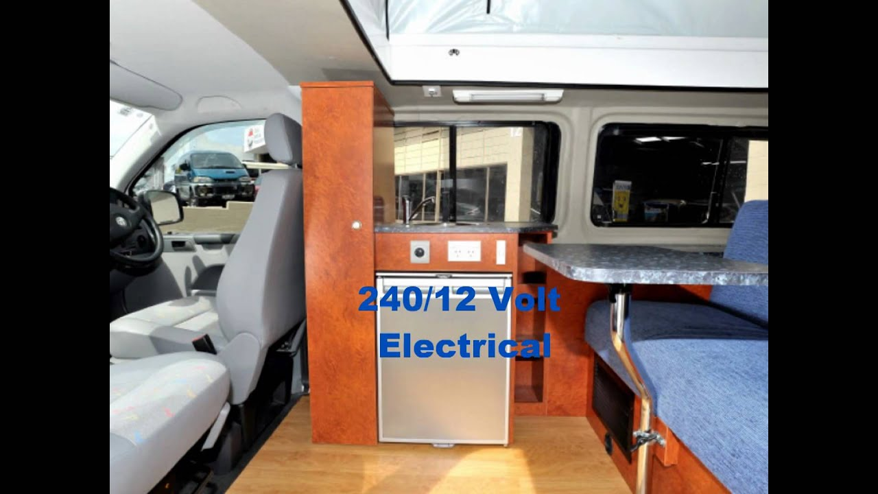 Volks Wagon Transporter Motorhome Design - YouTube