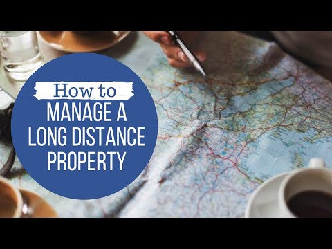 How Can We Manage Our Long Distance Green Bay Property?