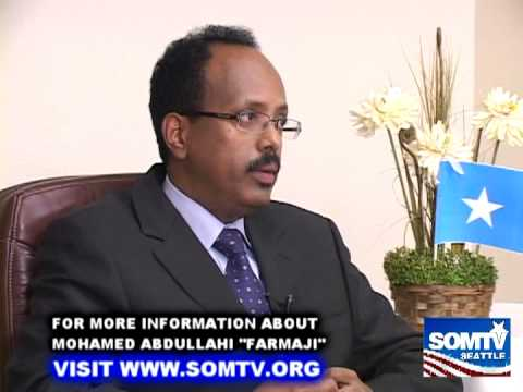 "ENGLISH VERSION:SomTV-Seattle Interview with Fr.PM Mohamed Abdullahi ""Farmajo"""