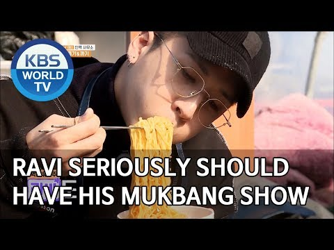 Ravi seriously should have his Mukbang show [2 Days & 1 Night Season 4/ENG/2020.01.19]