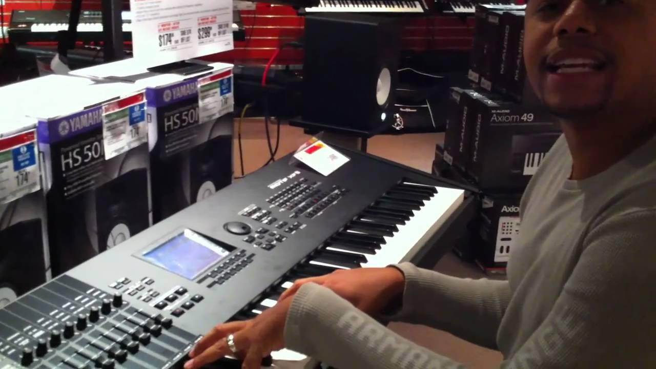 Yamaha Motif XF Reviews Demo :: Initial Impressions of Yamaha XF Part 1 -  GospelMusicians com