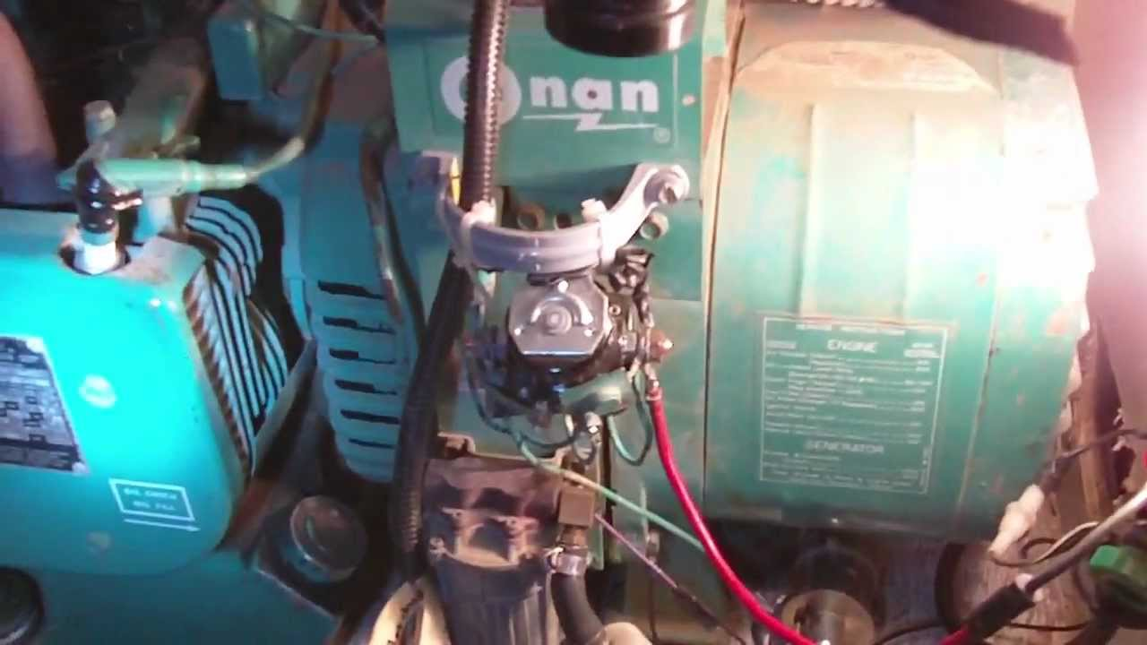 Onan Generator 4kw Test Run
