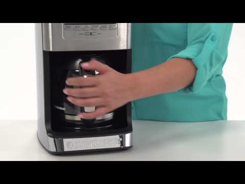 Black + Decker 12-Cup Tea and Coffee Maker - YouTube