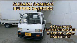 Supercharged Subaru Sambar Test Drive & Overview