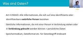 Datenschutzgrundverordnung - wie bereite ich mich vor?