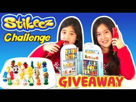 LIDL STIKEEZ 2019 NAME CHALLENGE & GIVEAWAY   Twin Kids Family Fun TV แจกของเล่น   [Eng&Thai Sub]  