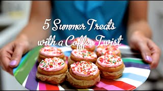 5 Summer Treats With A Coffee Twist