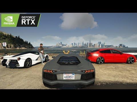 ➭ GTA 6 2020 PS5 NEXT-GEN ✪ Graphics 🔥 GeForce RTX™ 2080 Ti - Intel i9-9900k GTA V PC MOD