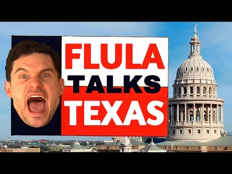 Flula Borg's Hilarious Austin, Texas Interview!