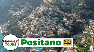 Beautiful Tour of Positano, Italy in 4K