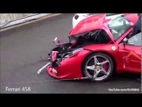 Ultimate Supercar Crashes Compilation Youtube