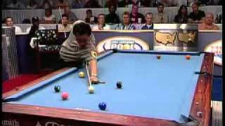 Billiards Pros Efren Reyes and Francisco Bustamante go to the Hill at the 2003 U.S. Open 9-Ball
