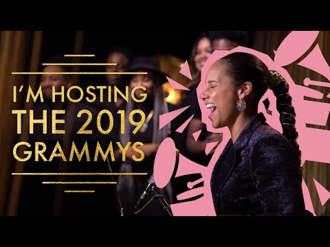 Chris Davis - The MOMENT Alicia Keys is told she will host the GRAMMY Awards!