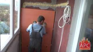 видео Как правильно утеплить балкон пеноплексом