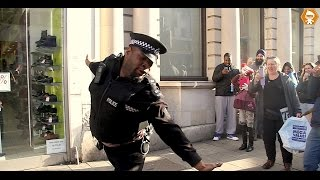 Crazy Police officer Dancing on the Job gets Fired