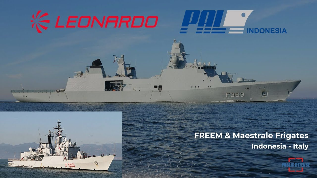Indonesia Signed a Contract to Supply of 6 New FREEM Frigates and 2 Second Hand Maestrale Frigates