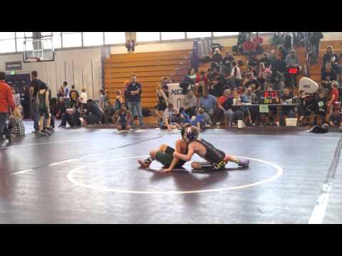 MSWA State qualifier Seth Fillers vs Trevor Gagnon Arundel