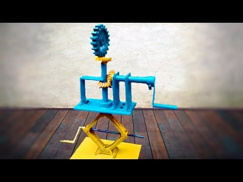 Mechanical engineering project Display Jack New Invention 2017