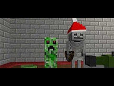 Minecraft Школа Монстров - СТРЕЛЯЛКИ В МАЙНКРАФТ (Minecraft Анимация)