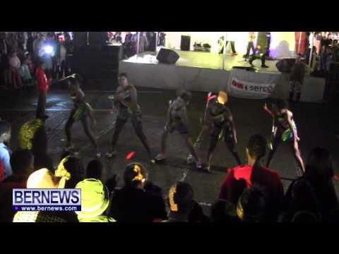 St  George's Original Dancerettes, NYE, Dec 31 2013