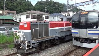 甲種輸送 小田急5000形 逗子駅