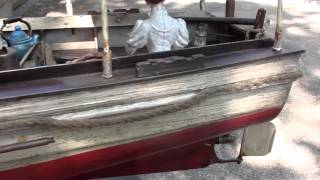 african queen rc steam boat
