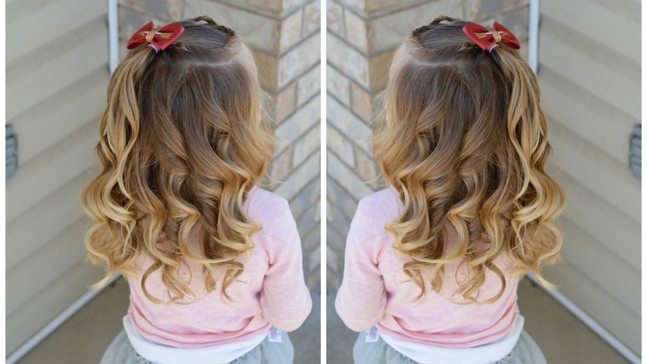 how do you style hair how to curl toddler hair 6359