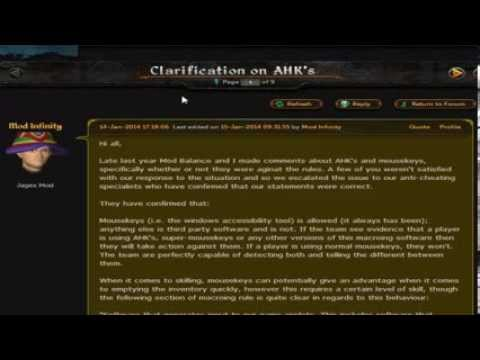 Discussion Of Autohotkeys (Ahk'S) And Mousekeys In Runescape - YT