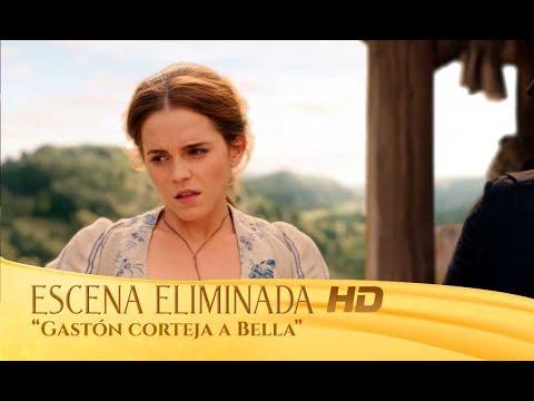 La Bella y la Bestia   Escena eliminada: 'Gastón corteja a Bella'   HD
