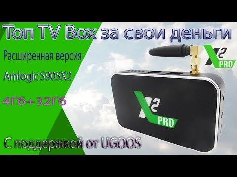 TV Box Cube X2 PRO Это ТОП приставка за низкую цену с поддержкой от Ugoos Обзор