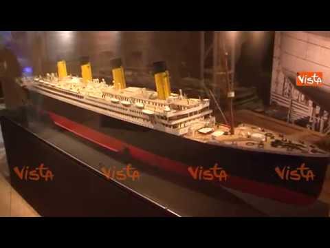 Le immagini della mostra Titanic a Torino