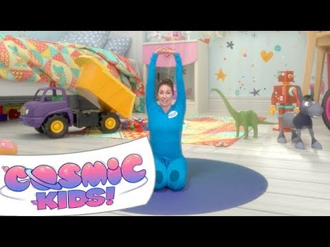 Diggory the Dumptruck | A Cosmic Kids Yoga Adventure!