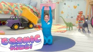 Cover images Diggory the Dumptruck   A Cosmic Kids Yoga Adventure!